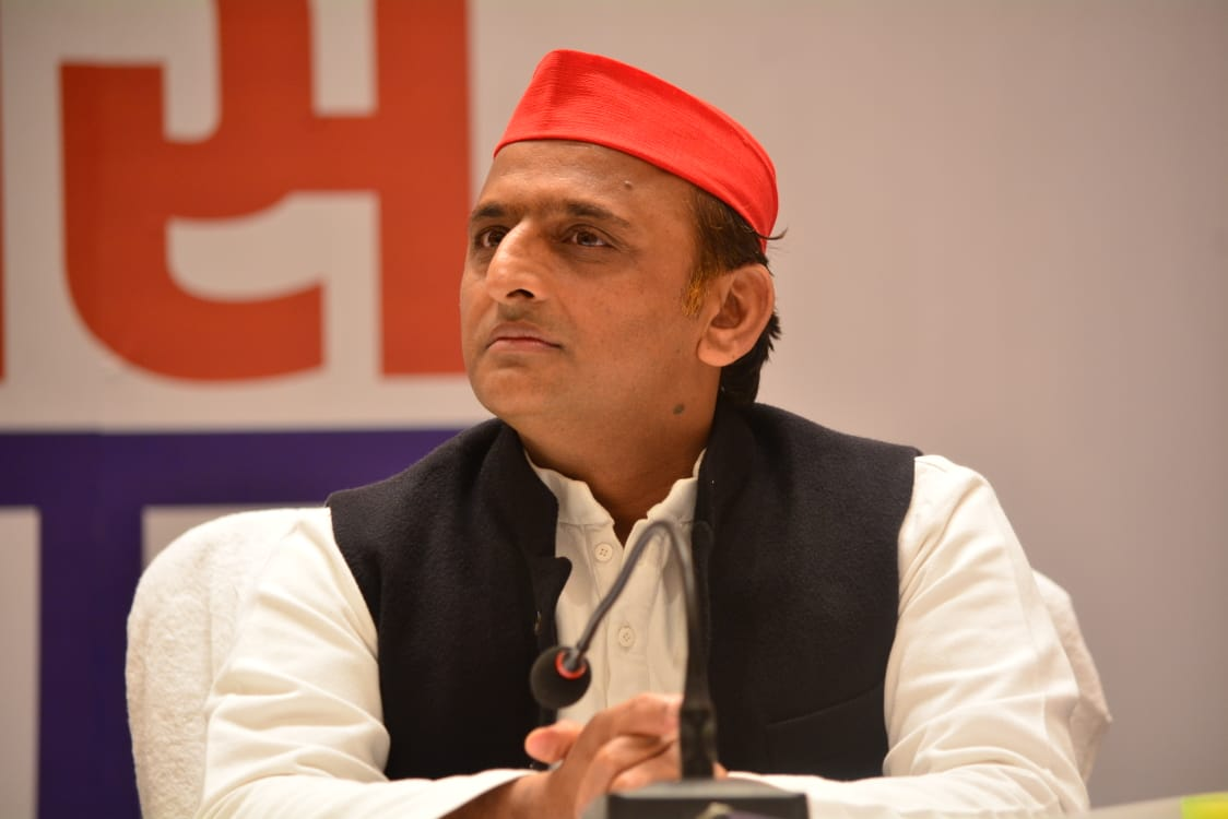 SP chief Akhilesh Yadav mourns the demise of SP district secretary