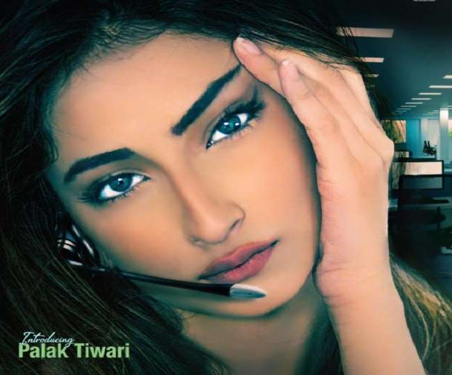 Palak Tiwari debut Bollywood the poster of the first film is released