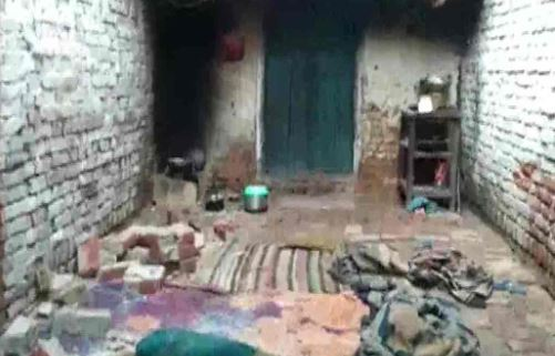 Shahjahanpur 5 members same family die wall collapses
