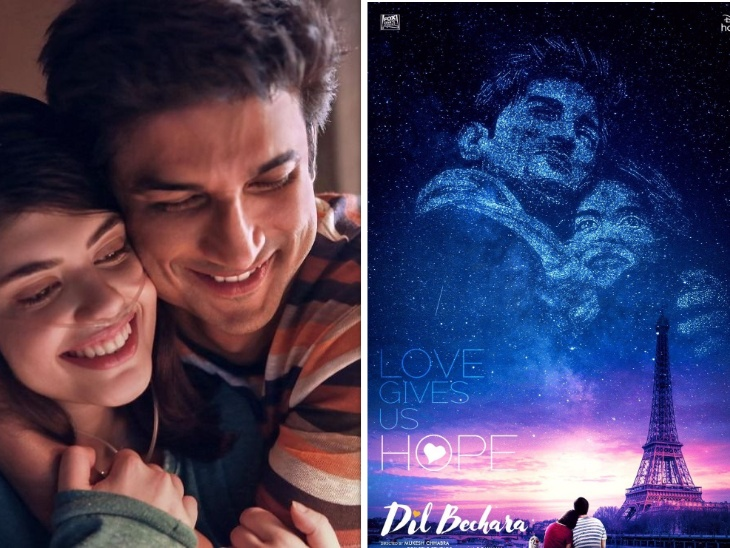 Sushant Singh Rajput last film Dil Bechara earned many crores first day