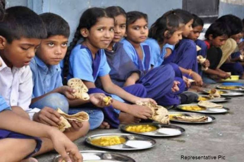 Kitchen garden built in school mid-day meal UP latest news