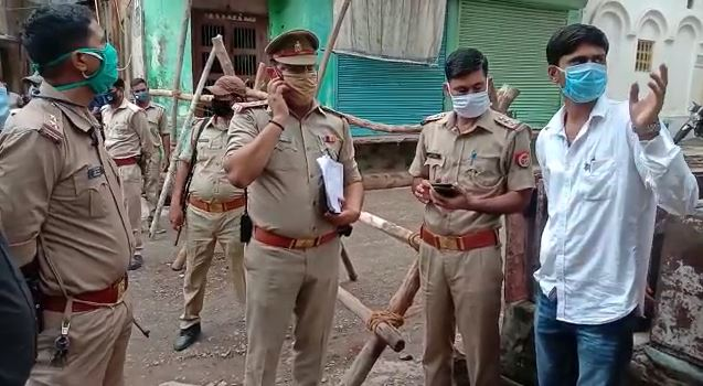 gangster act accused Varanasi police attached property
