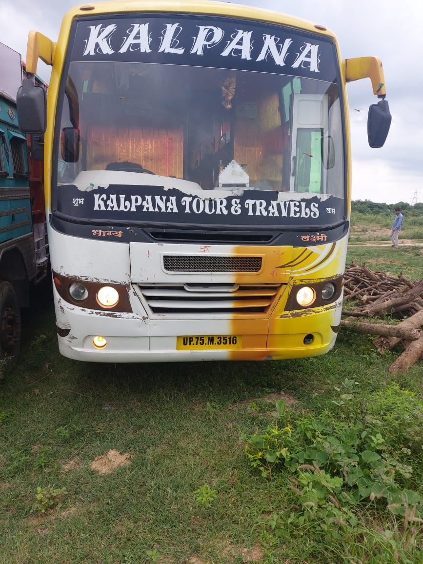Hijack bus recovered Agra