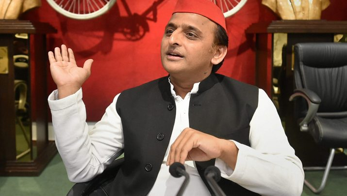 SP chief Akhilesh Yadav meets party leaders and MLA