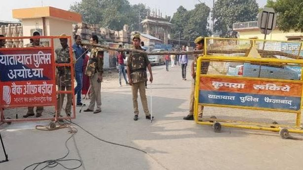 Bhoomi Poojan Entry of outsiders will be banned Ayodhya