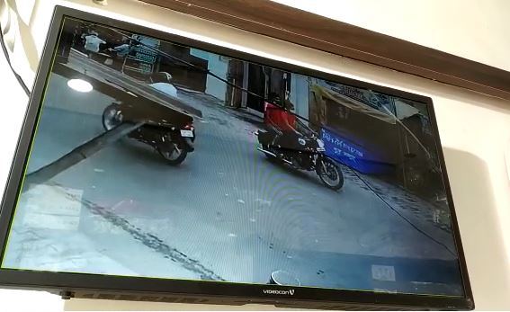 Sudiksha Bhati Accident CCTV footage surfaced on camera