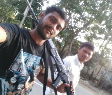 illegal weapons youth on social media Video viral Saharanpur