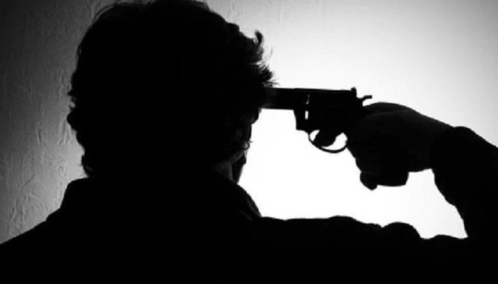 youth committed suicide shooting himself