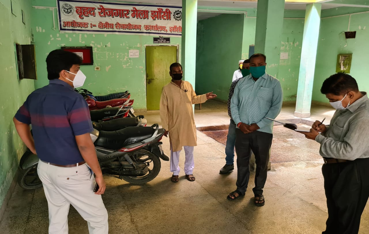 DM inspection stirs up two dozen employees officers found absent Jhansi
