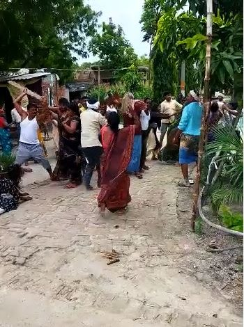 After the Panchayat elections in the district video of the assault went viral