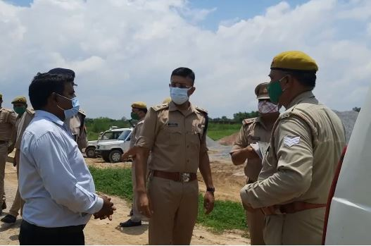 New Superintendent of Police inspected the under construction police line